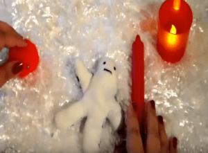 como hacer un muñeco vudu casero