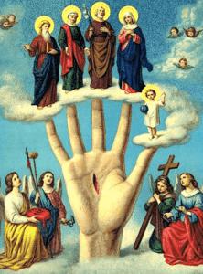 oración de la mano poderosa contra los enemigos