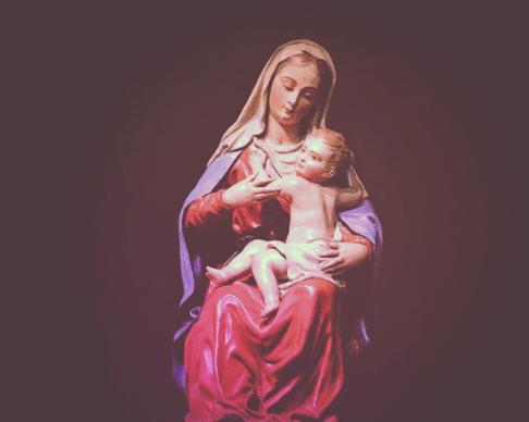 Oración Dios te Salve Reina y Madre de Todos Nosotros