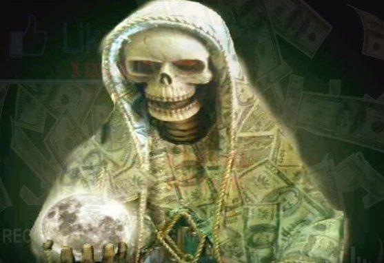 Oración Fuerte a la Santa Muerte para Atraer el Dinero