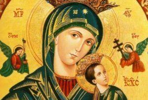 Oración a la Virgen Nuestra Señora del Perpetuo Socorro