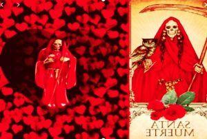 Hechizo o Ritual de Amor con la Santa Muerte