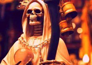 Oración a la Santa Muerte Blanca para dar Gracias